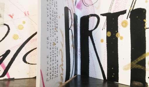 Kalligrafischer Seiten-Zauber – für Beginner