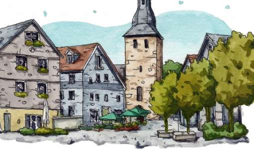 Urban Sketching: Wie man Orte und Gebäude sprechen lässt