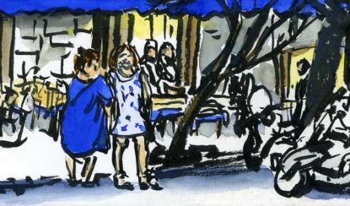 Urban Sketching – Menschen in der Stadt