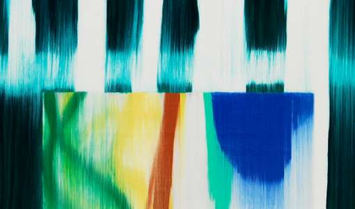 Experimentelle Malerei – Acryl