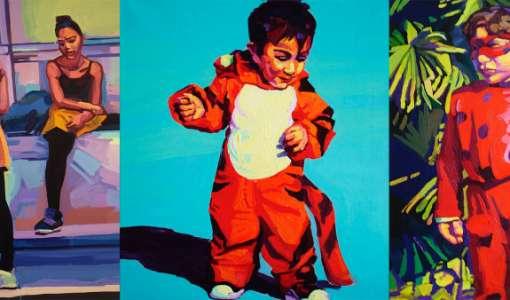 Menschen und Menschengruppen – expressiv in Acryl