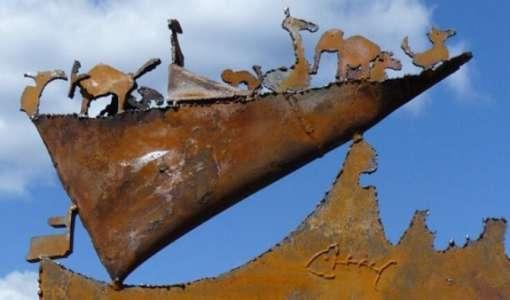 Feuer und Eisen - vom glühenden Eisen zur Skulptur