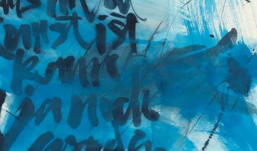 Pinsel und Schrift