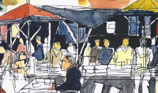 Urban Sketching: Mit dem Skizzenbuch Hattingen entdecken