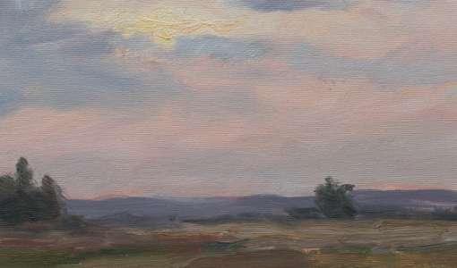 Landschaften malen wie van Gogh