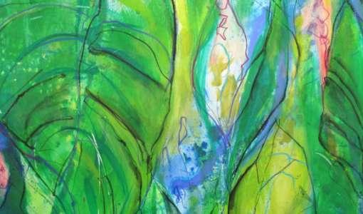 Botanicals – Ausdrucksstarke Pflanzen in Mischtechnik