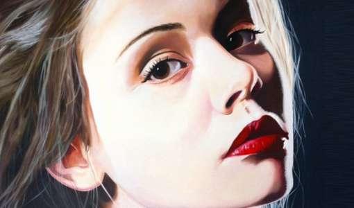 Fotorealistische Malerei